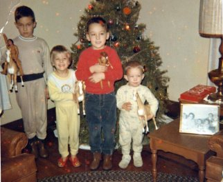 Four Coker Kids.Christmas